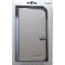 Funda Tipo Cartera Samsung S4 Blanca Padrisima Barata Oferta