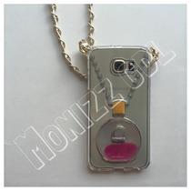 Funda Tipo Perfume Chanel Para Samsung S6