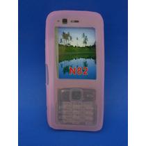 Silicon Skin Case Para Nokia N82 Color Rosa