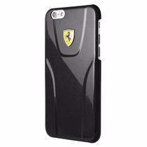 Iphone 6 Plus Scuderia Ferrari Caratula 3d Negro