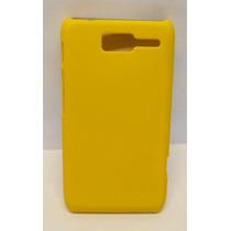 Funda Protector Motorola D1 Xt914 Amarillo