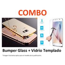 Protector Espejo + Vidrio Templado Iphone 5 5s 6 6s Plus .