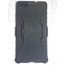 Clip Protector Uso Rudo Huawei P8 Lite Con Mica Glass 9h