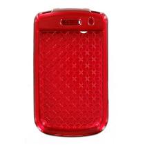 Blackberry Audaz 9650 Gira 9630 Chasquido En Caso - Rojo