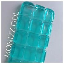 Funda / Case Tipo Ice Verde-agua Para Iphone 6