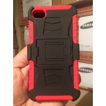 Funda Protector Case Clip Uso Rudo 3 En 1 Iphone 4s