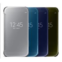 Funda Clear View Galaxy S6 S6 Edge + Regalos + Envio Gratis