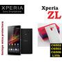 Funda Gel Tpu Sony Xperia Zl, C6502, C6503, C6506 + Mica