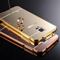 Case Funda Tipo Espejo Marco Metalico Para Galaxy Note 4 Y 5