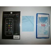 Kit 3x1 Tpu+ Mica+ Paño Nokia N9!!!