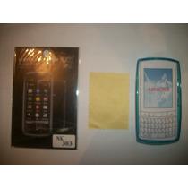 Kit 3x1 Tpu+ Mica+ Paño Nokia Asha 303!!!