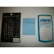 Kit 3x1 Tpu+ Mica+ Paño Nokia X2-01!!!