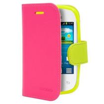Funda Ice Rosa Con Amarillo Sam Pocket Neo S5310