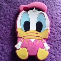 Hermosa Funda De Pato Donald Color Rosa Para Iphone 4/4s
