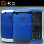 Funda Iko Blackberry 9300 8520 Azul Hardshell Msi