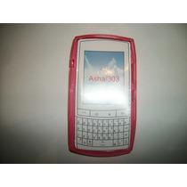 Protector Tpu Nokia Asha 303 Color Rosa!!!
