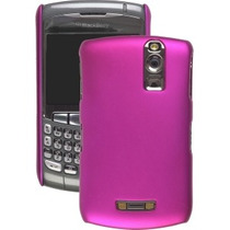Color Haga Clic En Caso Para Blackberry 8300 8310 - Fucsia