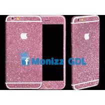 Calcomanía Brillantinas Color Fucsia Iphone 5/5s