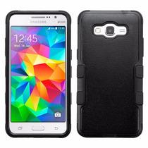 Funda Doble Uso Rudo Samsung Galaxy Grand Prime G530 Negro