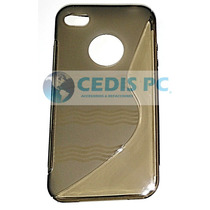 Funda Protector Tpu Apple Iphone 4g 4s Mica Gratis