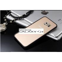 Samsung S6 Bumper Aluminio+cristal Delantero Y Trasero