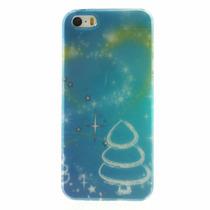 Funda Navidad Arbolito Y Polvo Estelar Iphone 5s Y Se Acro