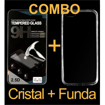 Combo Mica Glass Y Protector Transparente Huawei G Elite L23