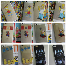 Los Simpson, Minions, Mario Crystal Case Iphone 5/5s 6/6s!