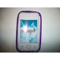 Protector Tpu Samsung Galaxy Young S5360 Color Morado!
