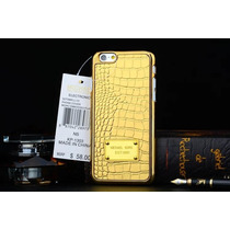 Case Michael Kors 6s Plus Cocodrilo Animal Mk Print A Meses!
