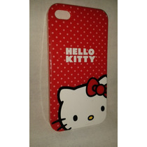 * Carcasa Protectora Hello Kitty Para Iphone 4s O 4g
