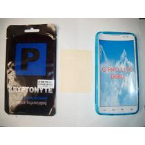 Kit 3x1 Tpu+ Mica Privacidad+ Paño Lg G Pro Lite D680!!!