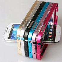 Magnifico Bumper En Aluminio Para Galaxy S5 Luce Y Proteje