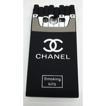 Funda Cigarrera J7 J 7 Samsung Chanel Galaxy Cigarros Silico