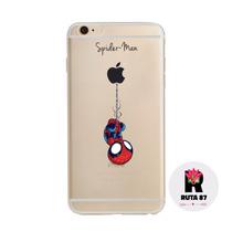 Funda Transparente Spiderman Iphone 6,6s,6plus Y 6s Plus