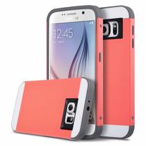 Samsung Galaxy S6 Funda De Impacto Dos Capas Mayor Protecion