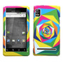 Protector Motorola Droid A955 Triangulos De Colores (droid 2