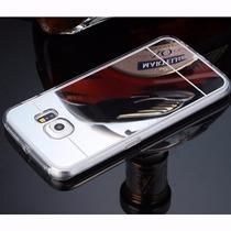 Funda Flexible Con Acabado Espejo Samsung J7