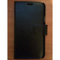 Funda Skech Para Samsung Galaxy S5 De Piel, Modelo Polo Book
