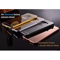 Funda Bumper-aluminio Espejo Samsung Galaxy Grand Prime G530