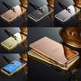 Bumper Funda Aluminio Espejo Sony Xperia Z5 Z3 M5 M4 Calidad