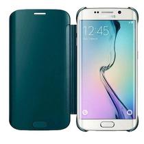 Funda Flip Cover Samsung Galaxy S6 Flat Azul Turqueza