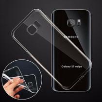 Funda Crystal Case Flexible Galaxy S7 S7 Edge + Regalo