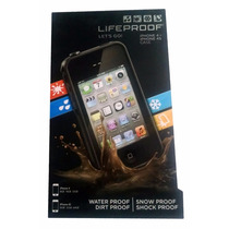 Funda Lifeproof Contra Golpes Y Agua Iphone 4 / 4s Negro