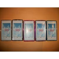 Promo Funda De Tpu Nokia 505 Lumia!!!