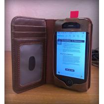 Funda De Piel Libro Antiguo Iphone 5s 5 4 4s ¡envío Gratis!