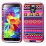 Funda Protector Triple Layer Samsung Galaxy S5 Morado Figur