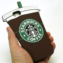 Funda Iphone 6 ,4 5s 5c Vaso Starbucks Frappe Cafe Celular