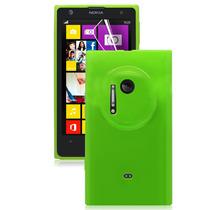 Funda De Silicon Qruzh + Mica Pantalla Para Nokia Lumia 1020