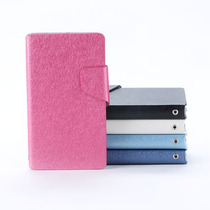 Nokia 520 Lumia Funda En Piel Color Azul Y Rosa +stylus Mn4